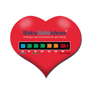 Love Heart Lcd Thermometer Fridge Magnets - Perfect For Promotional