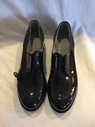 Womenand039s Miltary Oxford Black Craddock Panco Dress Shoes 11 1/2 B Army Navy