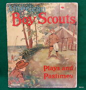 Vintage 1912 American Boy Scout Picture Book - Donohue And Co