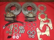1947-1954 Chevrolet Truck Front Disc Brake Conversion 6 Lug With Roller Bearings