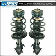 Front Complete Loaded Quick-strut Spring Assembly Pair Monroe 172336 172337 New