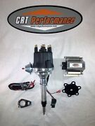 Small Cap Chevy Inline 6 Cylinder 235 Black Hei Distributor + 60k Volt Coil
