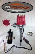 Small Cap Chevy Inline 6 Cylinder 194-235 Red Hei Distributor + 45,000 Coil