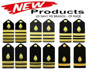 New Us Navy Authentic Medical Service Shoulder Boards Ranks Hi Quality Cp Made