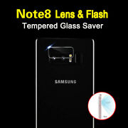 For Samsung Galaxy Note 8 Note 9 Back Camera Lensandflash Tempered Glass Protector
