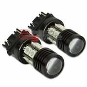 Pair 3157 Red Led Q5 7w 10smd+projector Cree Turn/signal/brake/tail Lamp/bulbs