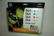 Hp 564x 564 Combo-pack Black/color Ink Cartridges Expire 09/17 140 D8j67fn New
