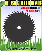 Brush Cutter Blade Strimmer Metal Disc 254mm 25.4mm Bore Petrol 40 Tooth 10