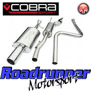 Fd38 Cobra Ford Fiesta Mk6 Zetec S Exhaust System Cat Back Resonated St Rear Val