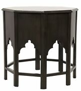 24 Set Of Two Side Table Night Stand Solid Mahogany Wood Traditional Wood 679