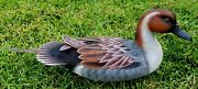 Hand Carved Wooden Goose Duck Decoy Collectible Decoy Goose Duck