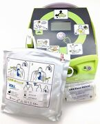 New Zoll Aed Plus Automated External Defib. W/pads Batteries Carry Case