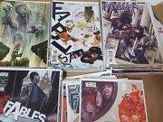 Alternative Comic Lot Fables Nice Collection 6 8-51 54-73 75 Nm Bag Boarded
