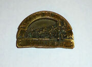 Budweiser Beer Vintage Buckle Union Clydsdale Smith And Wesson Bar Saloon Tavern