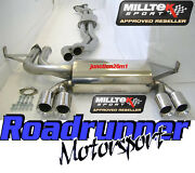 Milltek Ssxbm462 Bmw M3 E46 Cat Back Exhaust System Stainless Coupe And Cabriolet