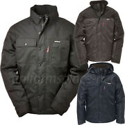 Caterpillar Jacket Menand039s Cat Insulated Twill Parka Hood Lined Jackets 1313004