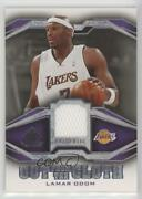2007-08 Sp Game Used Cut From The Cloth Lamar Odom Cc-lo