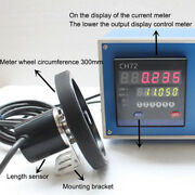 Ch72 Meter Electronic Encoder Wheel Roll To Measure The Length Meter Record