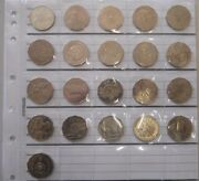 1966 Silver To 2016 Complete Set 21 Commemorative 50 Cent In Free Coin Page