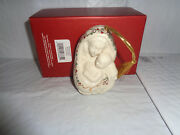 2004 Lenox - Madonna And Child W/ Jewels - Holiday Ornament