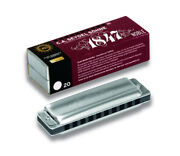 Seydel 1847 Noble Steel Reed Harmonica Aluminum Comb-pick A Key+low And Double Low
