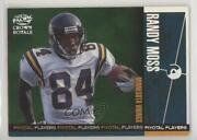 1998 Pacific Crown Royale Pivotal Players Randy Moss 16 Rookie Hof