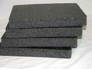 4 Pc Solid Closed Cell Militsry Replacement Foam Kit Fits Your 1300 Case
