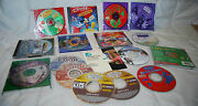 Lot Of 17 Pc Games Disney Empire Earth I Spy Roller Coaster Tycoon Kids/teens