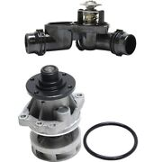 Water Pump And Thermostat Housing Assembly Kit Set For Bmw New