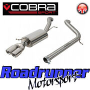 Cobra Sport Polo Gti 1.8 Tsi 6c Cat Back Exhaust System Stainless Non Res Vw65