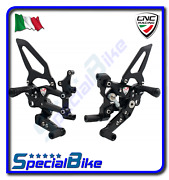Ducati 899 Panigale 2014 2015 Cnc Racing Adjustable Rear Sets Rps Easy