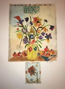 Floral-art-prints-bracha Guy-etching With Remarque / One Of One-hand Colored