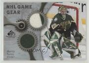 2005-06 Sp Game Used Edition Nhl Gear /100 Marty Turco Gg-mt