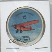 1962 Jello Picture Wheels Airplanes Food Issue Vega 1932 15 1s8