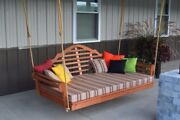 Aandl Furniture Co. Amish-made Cedar Marlboro Swing Beds - 4 Sizes And 9 Finishes