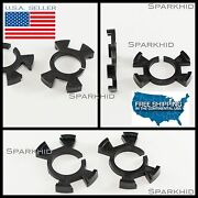 2pc H1 Led Bulb Spacer Adapters Holders Odyssey Cr-v Prelude Rsx Type-s Dc5 K24