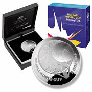 2015 1oz Five Dollar 5 Netball World Cup Silver Proof Domed Australian Coin