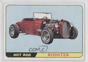 1966 Topps Hot Rods And Custom Cars Rodster 7 0q3