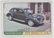 1966 Topps Hot Rods And Custom Cars New Breed Tv Car 2 0q3
