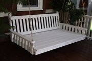 Aandl Furniture Amish-made Pine Traditional English Swing Beds - 4 Size Options