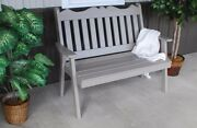 Aandl Furniture Co. Amish-made Pine Royal English Garden Benches - 3 Size Options