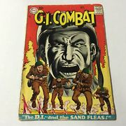 G.i. Combat 56 Silver Age Dc Key Sgt Rock Prototype Issue 1958