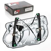 Complete Window Regulator With Panel For Vw Polo 9n 9a Front Left 4/5 Door