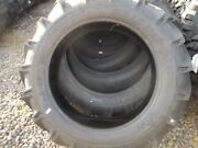 Two 11.2x28, 11.2-28 8 Ply R 1 Bar Lug Ford John Deere Tractor Tires With Tubes