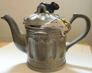 South West Ceramics Cat on a Dustbin Teapot 1988 Limited Edition