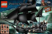 Lego 4184 Pirates Of The Caribbean Black Pearl 100 Authentic Usa Seller