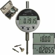 Digital Electronic Indicator 1/0.0005 Gauge 4 Probes Absolute Hold Inch/metric