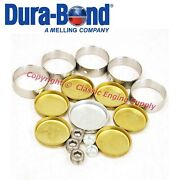 New Cam Bearing And Brass Freeze Plug Set Fits Cadillac 368 425 472 500 V8 Engines