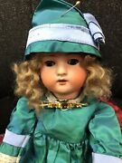 Antique Bisque Head Cuno Otto Dressel Eatons Beauty Doll C1900-1910 Rare 19
