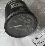 Piper Ar-204a-34/ 548-549 Airplane Part Fuel Flow Rate Indicator Sv Serviceable